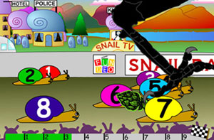 Fundeo Snail Racing Race Night